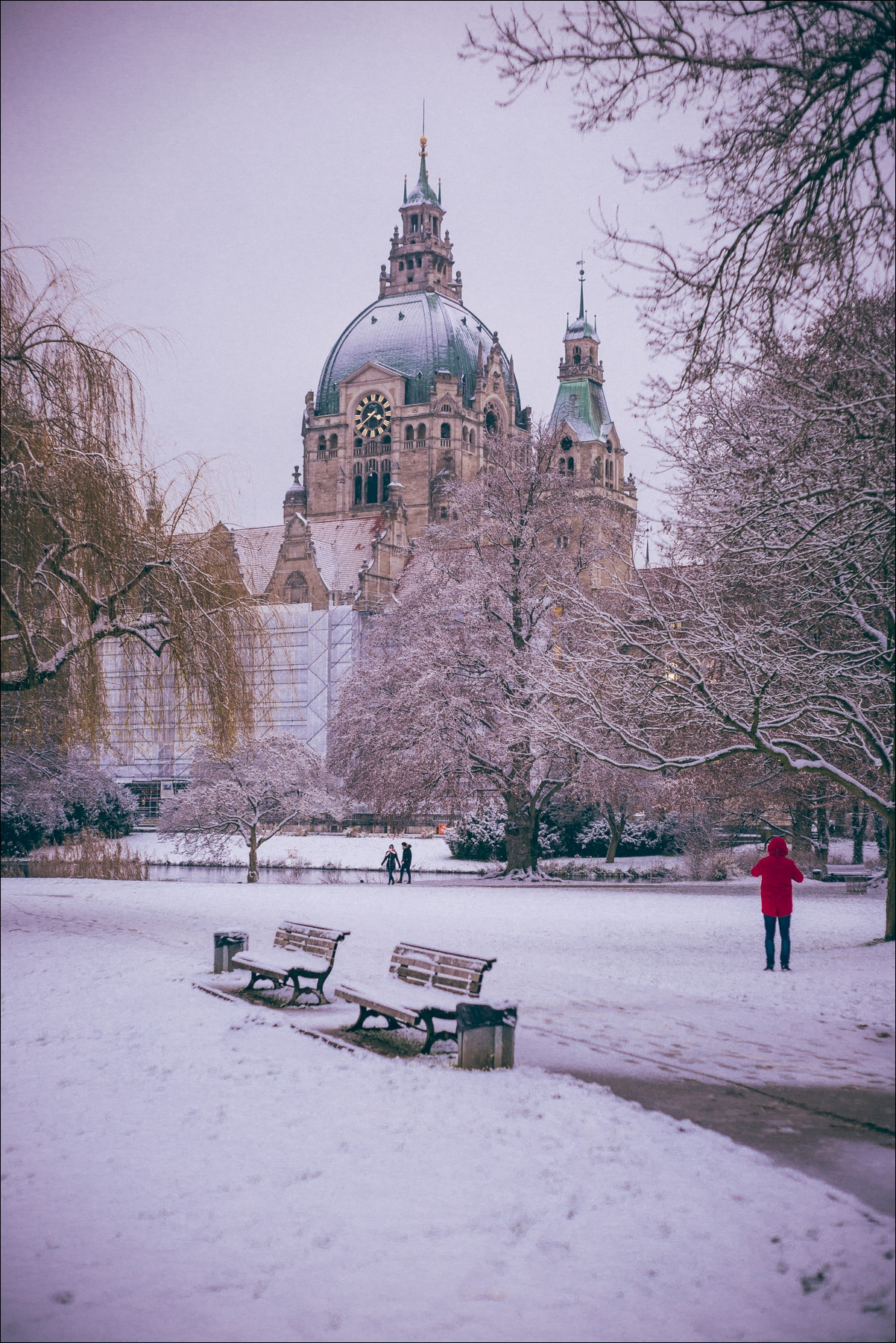 Hannover Schnee